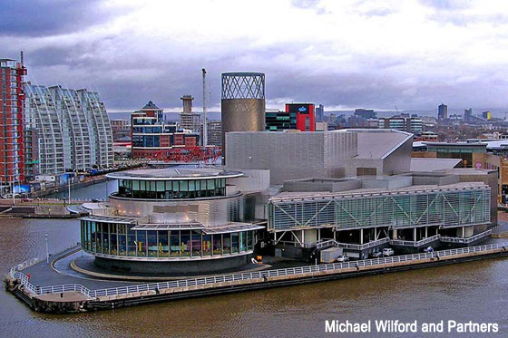 Lowry Centre, Salford (Manchester)